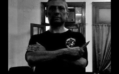 Knife defence. Master Pablo Lopez