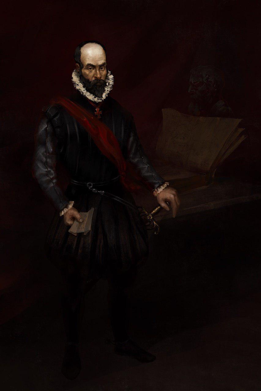 Создатель Дестрезы Иеронимо Де Карранза